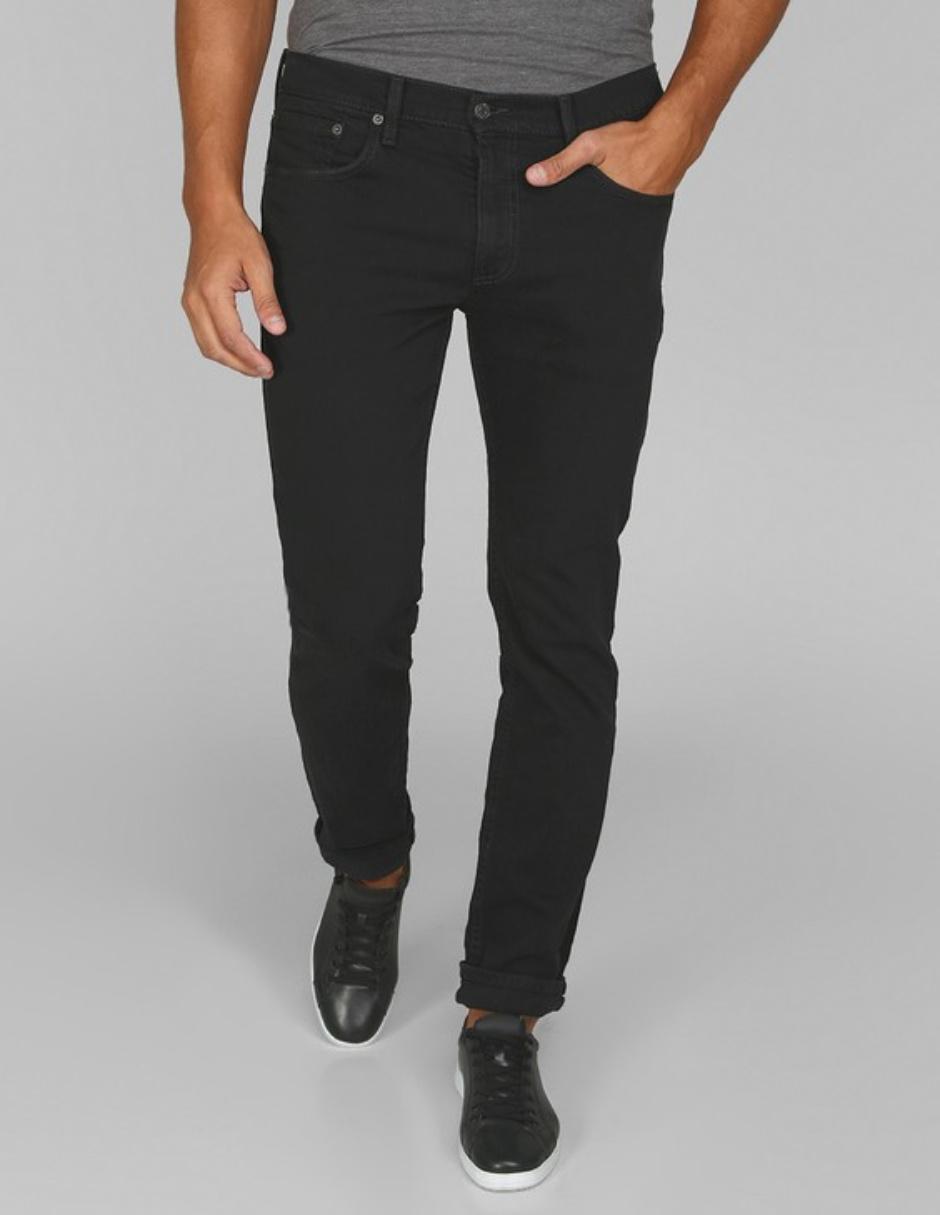 Jeans Levis De Caballero Corte Slim Cintura Media Lavado Stone Wash