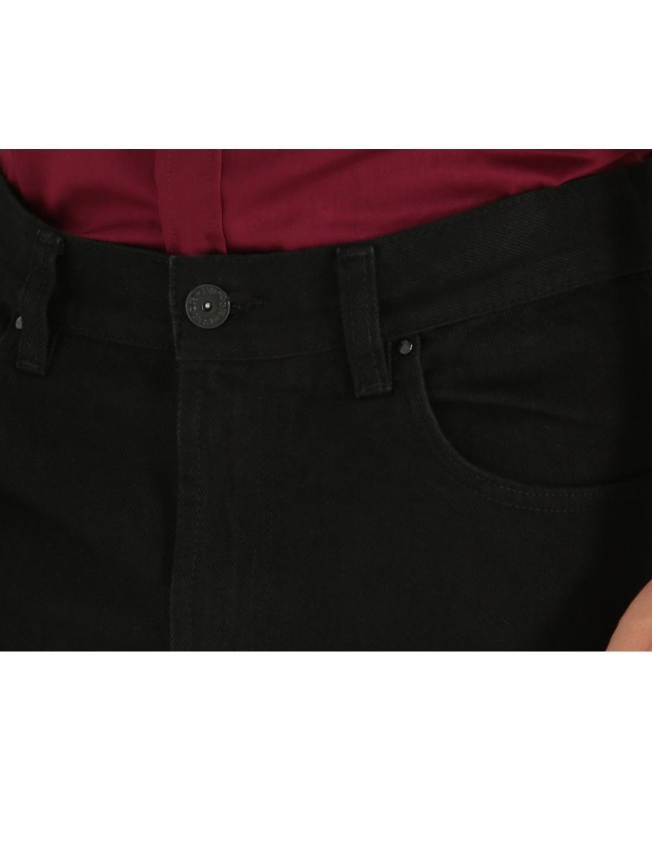 Jeans Furor De Caballero Corte Straight Cintura Media