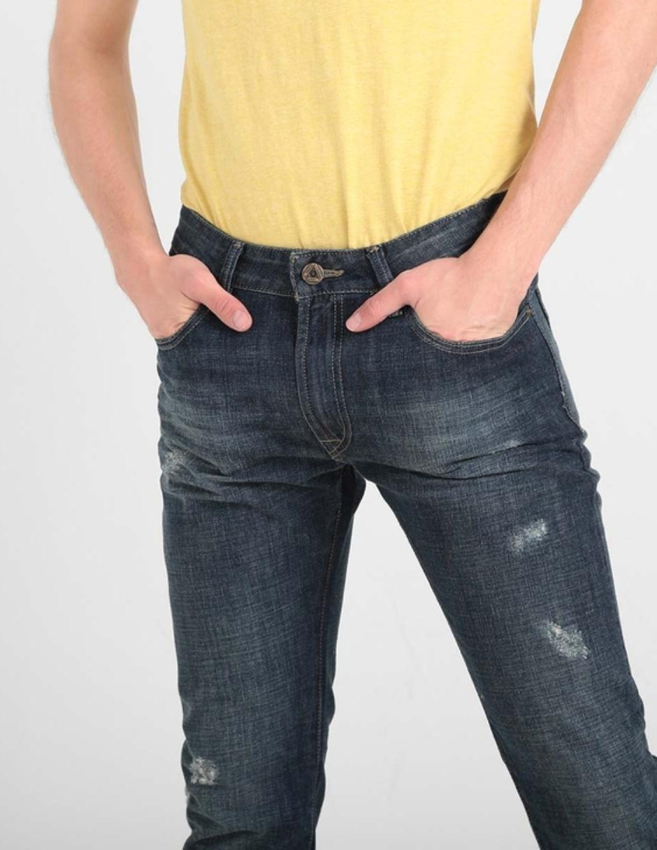 Jeans Silver Plate Falko Corte Slim Fit