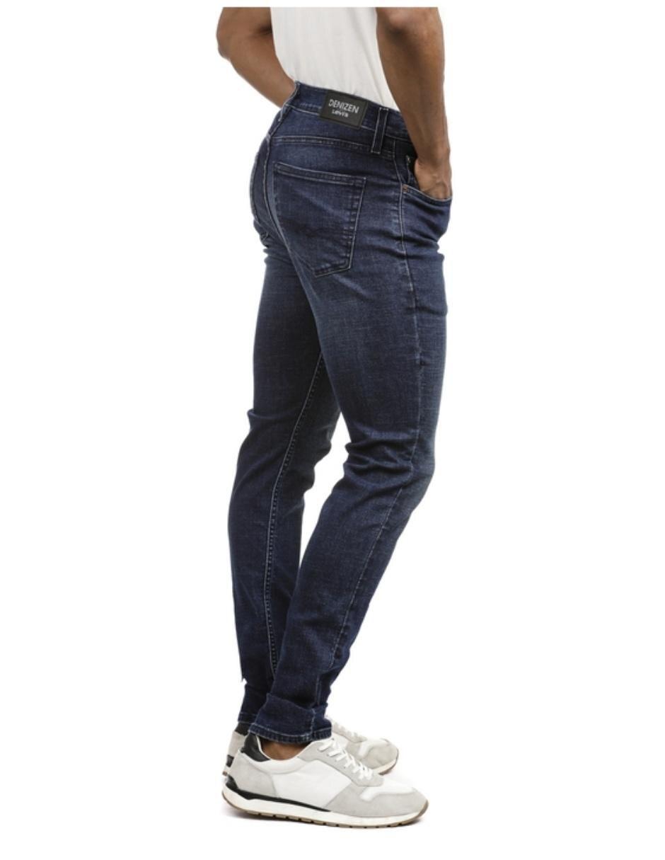 Jeans Furor De Caballero Corte Straight Cintura Alta